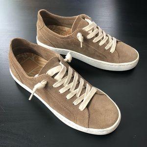 Dolce Vita Tan Suede Sneakers